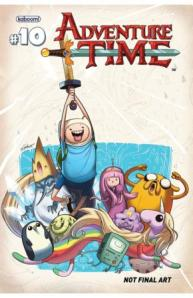 Adventure Time #10 Cover B