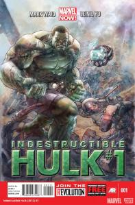 Indestructible Hulk #1 Cover