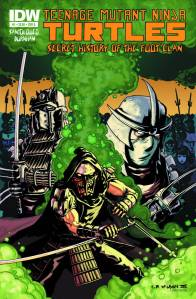 TMNT: The Secret History of the Foot Clan #1 Cover