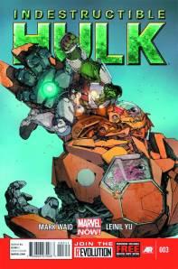 Indestructible Hulk #3 Cover