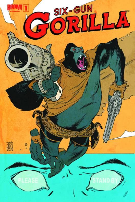 Sixth-Gun Gorilla #1
