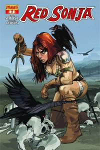 Red Sonja #1 (Staples)