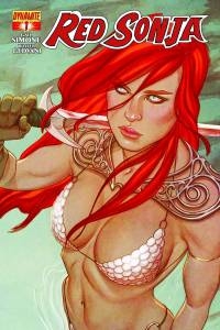 Red Sonja #1 (Frison)