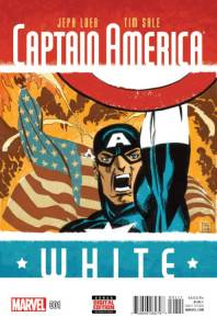Captain America: White #1